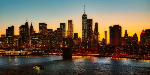 New York's city skyline